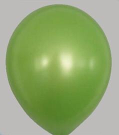 Ballon Metallic Groen - per 1