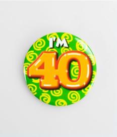 Button klein - 40