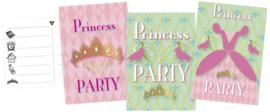 Princess party - Uitnodigingen