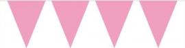 Vlaggenlijn - Baby Roze