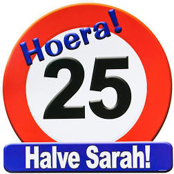 Huldeschild - Verkeersbord 25 halve sarah