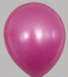 Ballon Metallic Roze- per 1