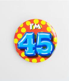 Button klein - 45
