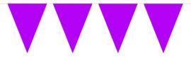 Vlaggenlijn Effen - Paars