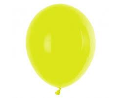 Ballon Geel - per 1