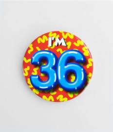 Button klein - 36