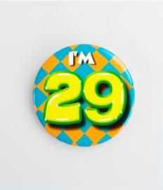 Button klein - 29
