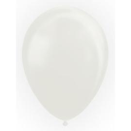 Ballon White Pearl - Per 100