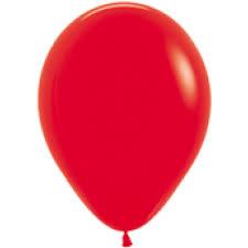 Ballon Rood - per 1