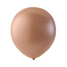 Ballon Salmon Metallic - Per 100