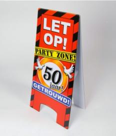 Warning Sign - 50 Jaar Getrouwd