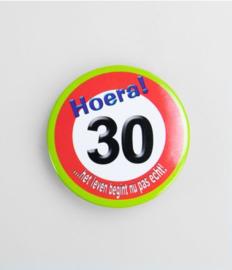 Button klein - 30