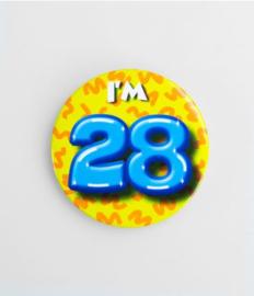 Button klein - 28