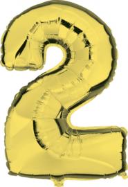 Folie Ballonnen - 2 Goud