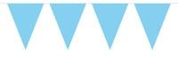 Vlaggenlijn Effen - Baby Blauw