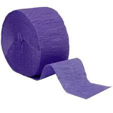 Crepepapier - Rol Paars
