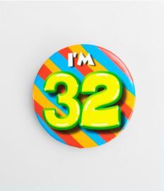 Button klein - 32