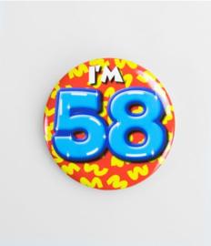 Button klein - 58