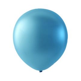 Ballon Blue Metallic - Per 100