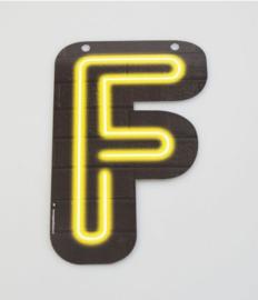 Neon Letter - F