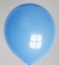 Ballon Licht-Blauw - per 1