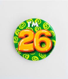 Button klein - 26