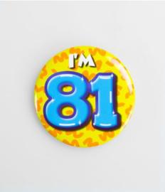 Button klein - 81