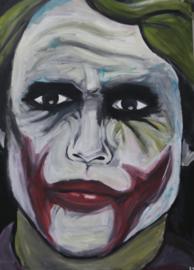Schilderij the Joker