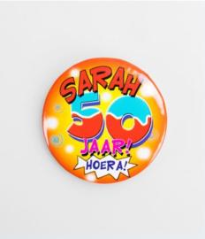 Button klein - Sarah 50