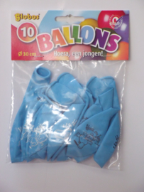 Ballonnen - Geboorte Jongen