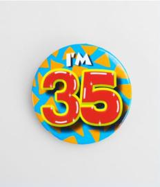 Button klein - 35