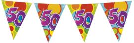 Vlaggenlijn Gekleurd - 50 jaar