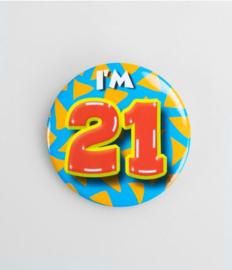 Button klein - 21