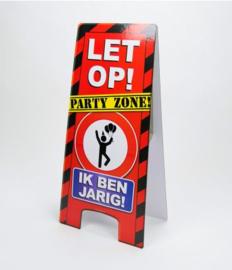 Warning Sign - Ik Ben Jarig