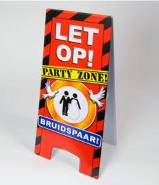 Warning Sign - Bruidspaar