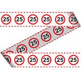 Markeerlint - Verkeersbord 25