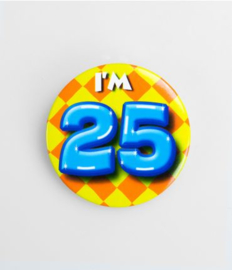 Button klein - 25