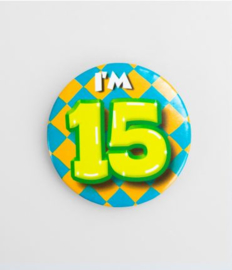 Button klein - 15