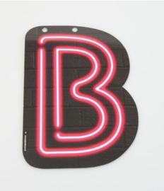 Neon Letter - B