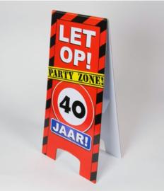 Warning Sign - 40
