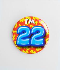 Button klein - 22