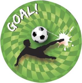 Goal feestje - Borden