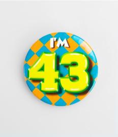 Button klein - 43