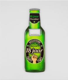 Bieropeners - 18 Jaar