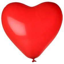 Ballon - Hart rood