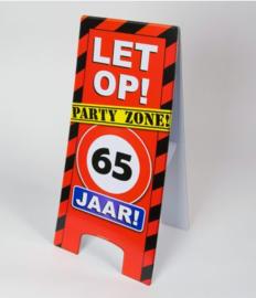 Warning Sign - 65 Jaar