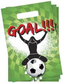 Goal feestje - Uitdeelzakjes