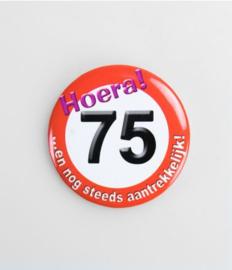 Button klein - 75
