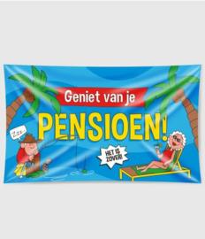 XXL Gevel Vlag - Pensioen