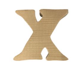 Houten letter X
